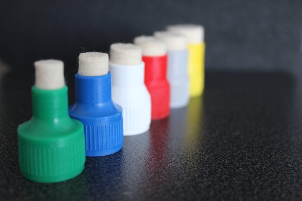 aplikátory na lahvičky