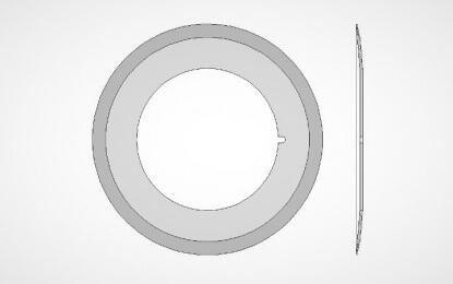 Kruhový nůž multivac